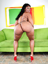 Sexy black girls with big rump