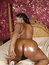 Phat and ebony african huge booties